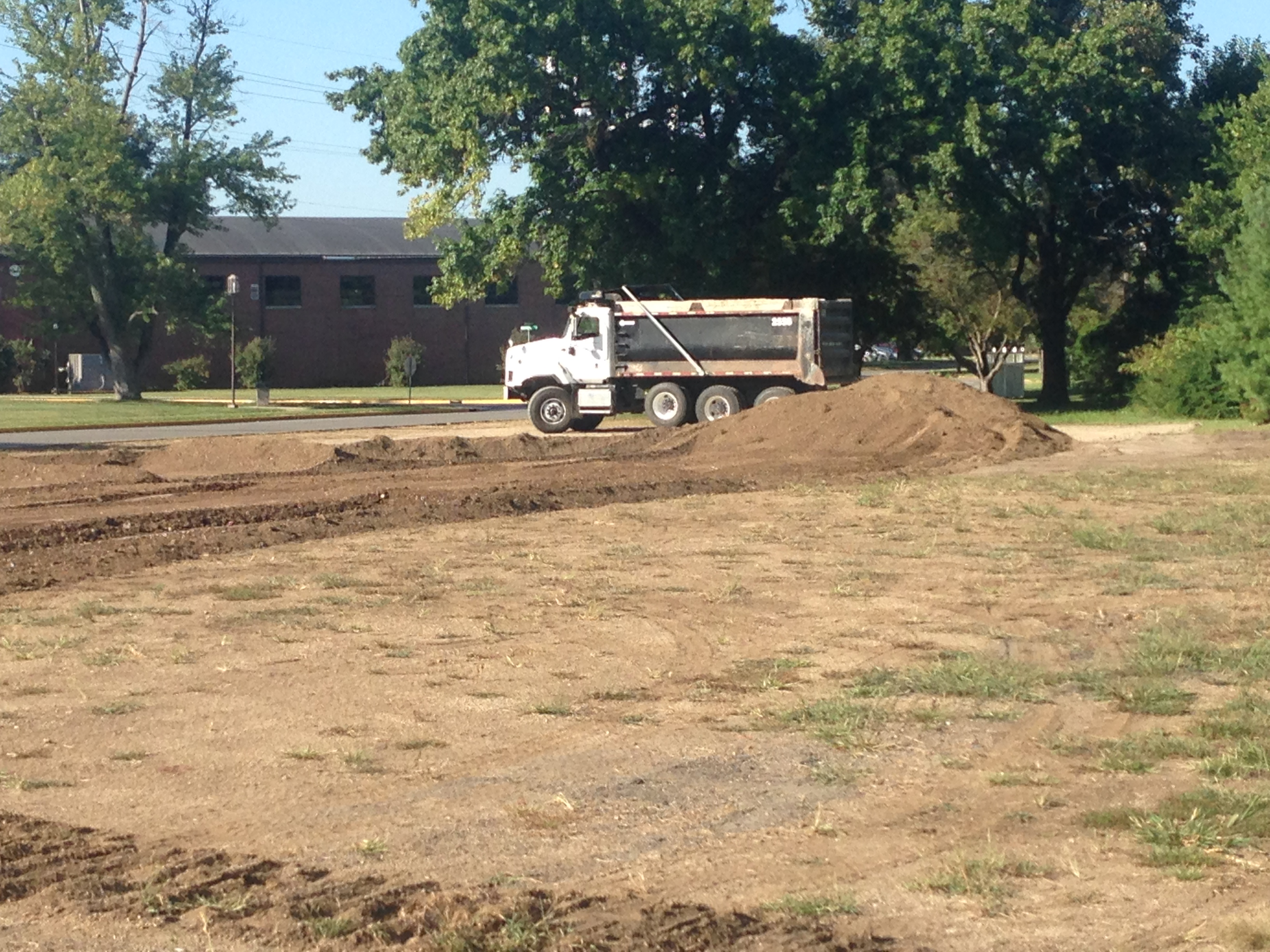 Vincennes University Parking Lot Construction